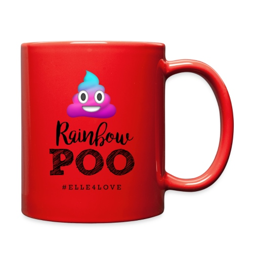 Rainbow Poo - Full Color Mug