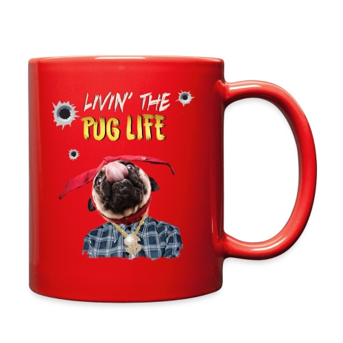 livin' the puglife - Full Color Mug