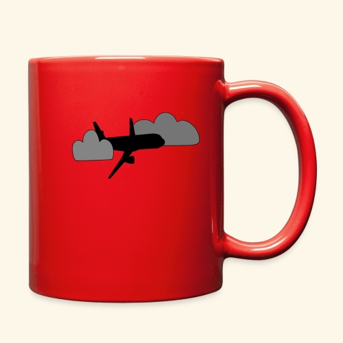 plane - Full Color Mug