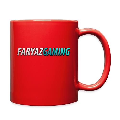 FaryazGaming Theme Text - Full Color Mug