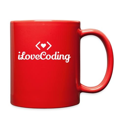 I Love Coding - Full Color Mug