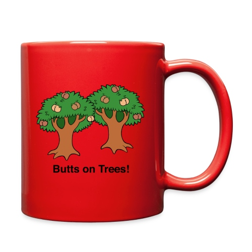 Butts on Trees! - Full Color Mug