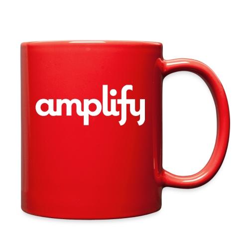 amplify logo// white - Full Color Mug