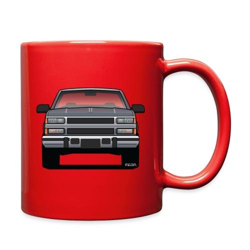 Design Icon: American Bowtie Silver Urban Truck - Full Color Mug