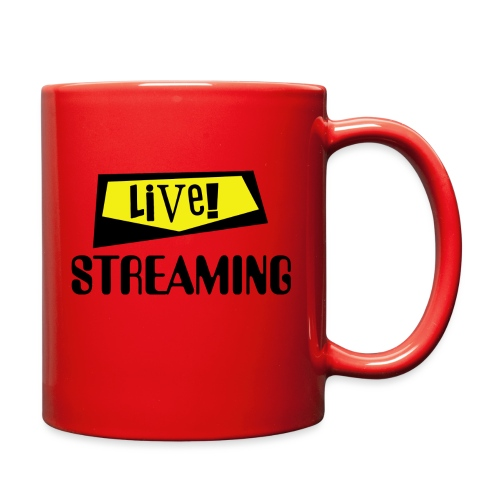 Live Streaming - Full Color Mug