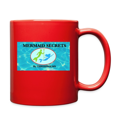 Mermaid Secrets By Theekholms - Full Color Mug