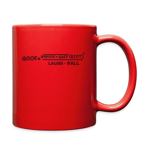 gaff text transparent - Full Color Mug