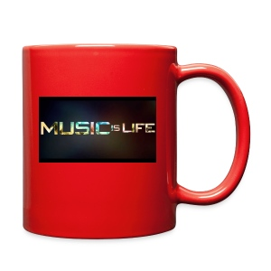 Music quote t-shirt - Full Color Mug
