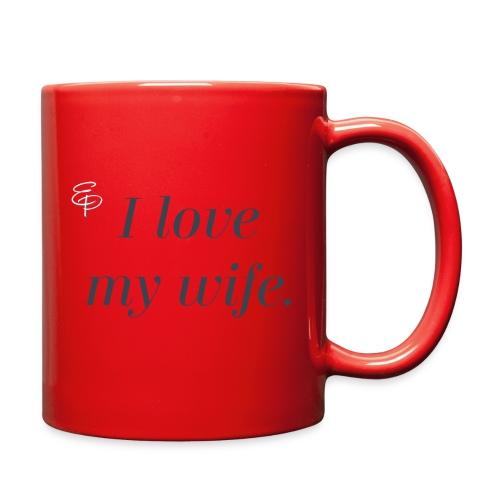I Love My Wife - Full Color Mug