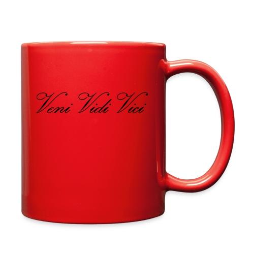 Zyzz Veni Vidi Vici Calli text - Full Color Mug