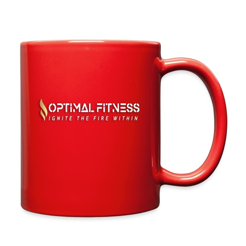 white logo, keep calm and hiit it white - Full Color Mug