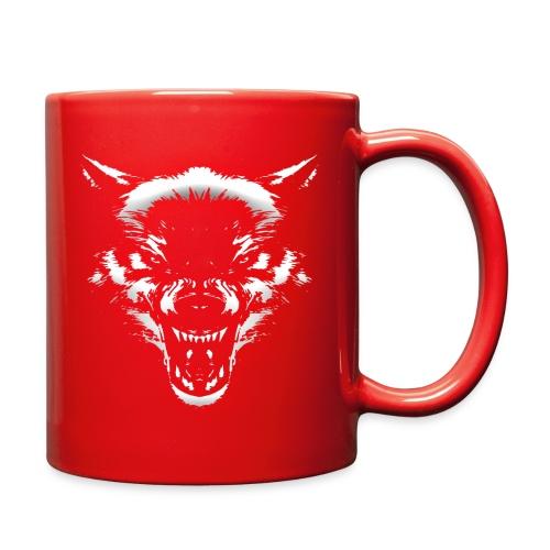 Angry Wolf - Full Color Mug