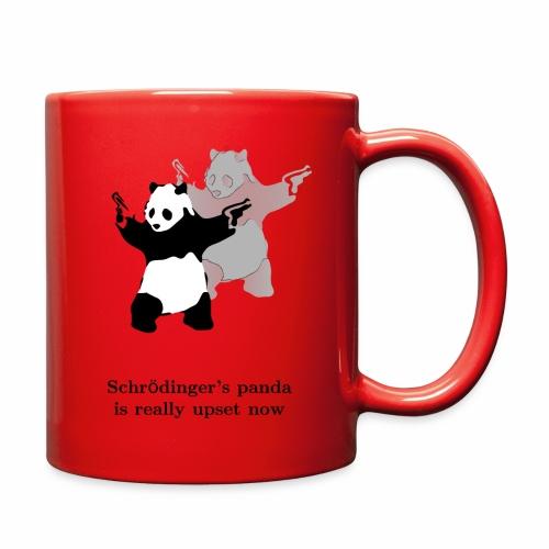 Schrödinger's panda is really upset now - Full Color Mug