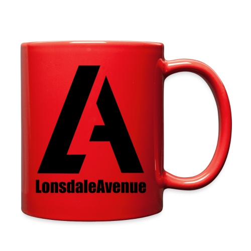 Lonsdale Avenue Logo Black Text - Full Color Mug