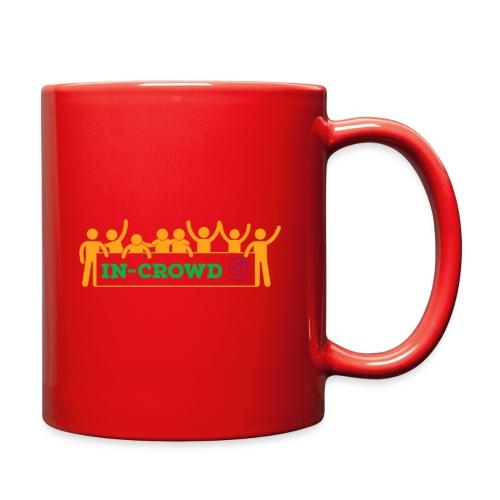 in crowd orange - Full Color Mug