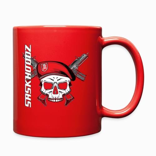 saskhoodz skull - Full Color Mug