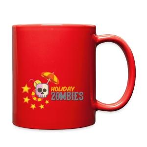 Holiday Zombies logo - Full Color Mug