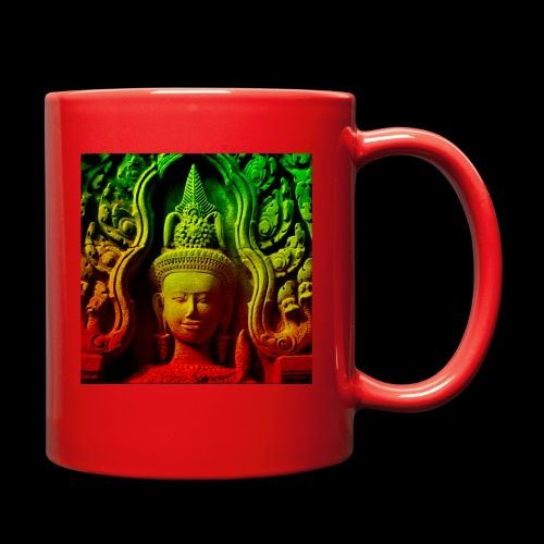 Cambodian stone sculpture - Full Color Mug