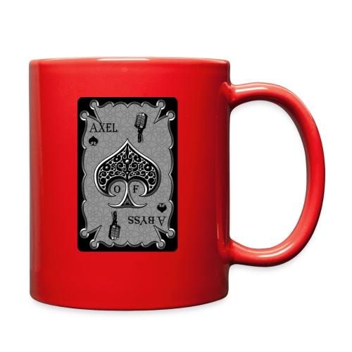 Axelofabyss Spade Card - Full Color Mug
