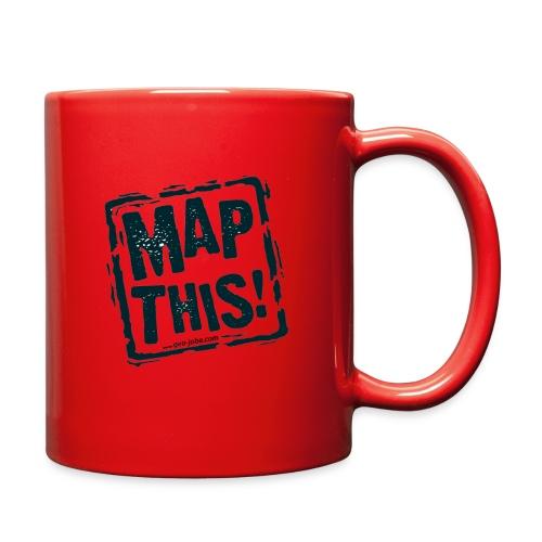MapThis! Black Stamp Logo - Full Color Mug