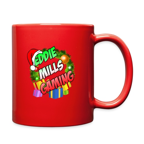 Eddie Mills Christmas - Full Color Mug