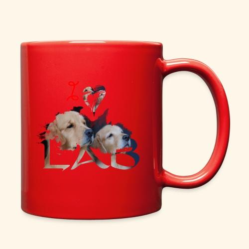 I love Lab - Full Color Mug