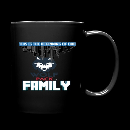 We Are Linked As One Big WolfPack Family - Full Color Mug