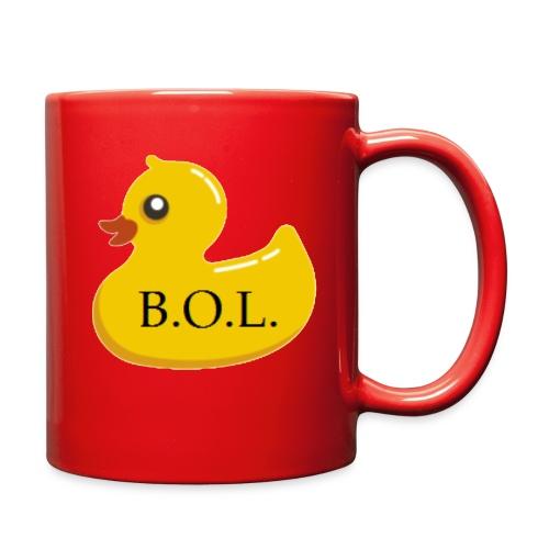 Official B.O.L. Ducky Duck Logo - Full Color Mug