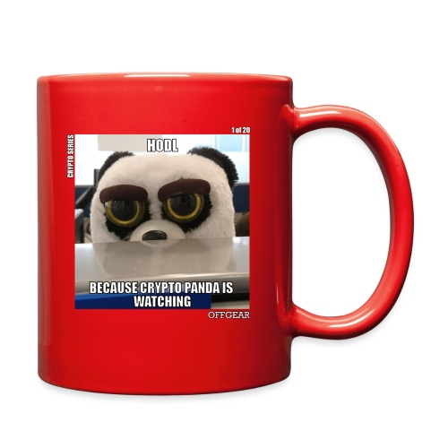 Crypto Panda Is Watching (Crypto Series) - Full Color Mug