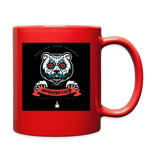 Grizz Day of the Dead Sweatshirt - Full Color Mug