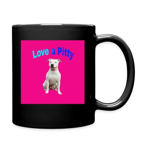 Pink Pit Bull - Full Color Mug