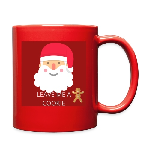 Santa Leave Me A Cookie - Full Color Mug