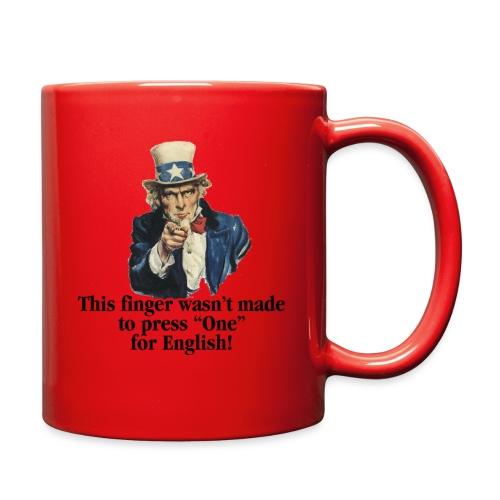 Uncle Sam - Finger - Full Color Mug