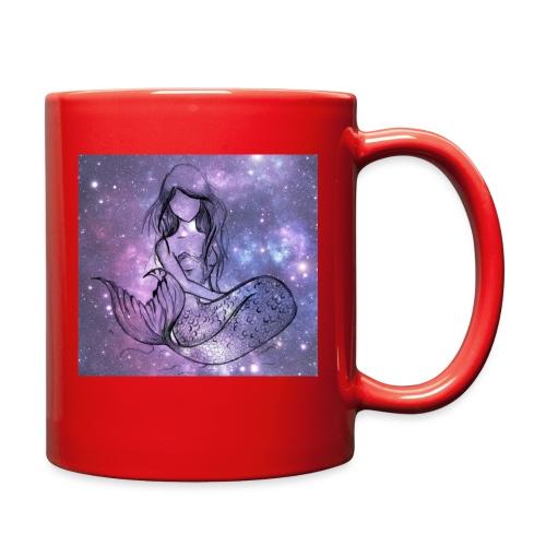 Galaxy Mermaid - Full Color Mug