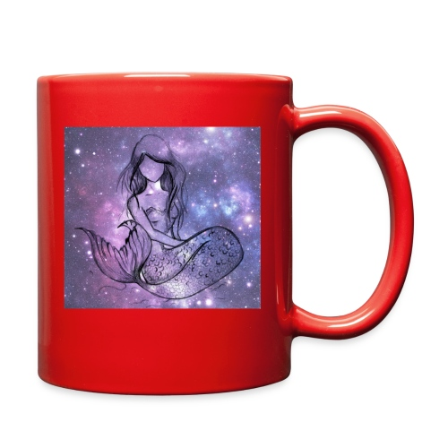Galaxy Mermaid - Full Color Mug