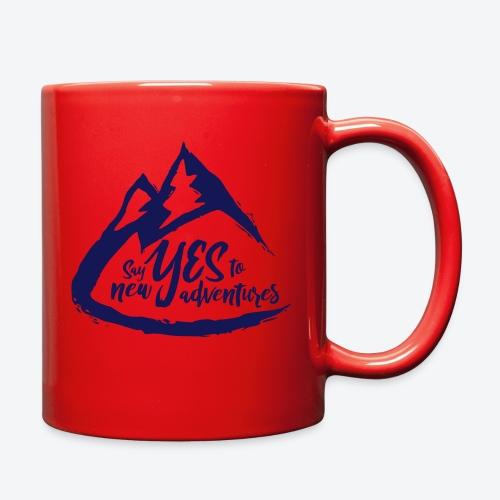 Say Yes to Adventure - Dark - Full Color Mug