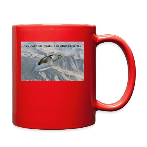 THE CLASSIFIED PROJECTS OF AREA 51 - Full Color Mug