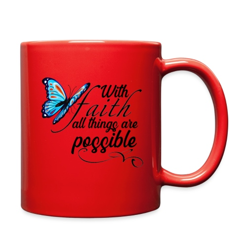 all things possible - Full Color Mug