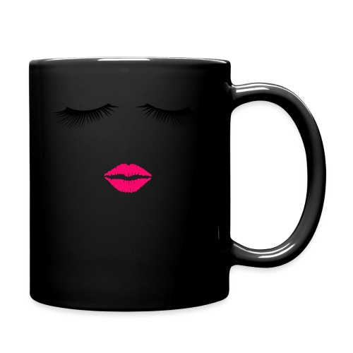 Lipstick and Eyelashes - Full Color Mug