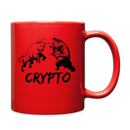 CryptoBattle Black - Full Color Mug