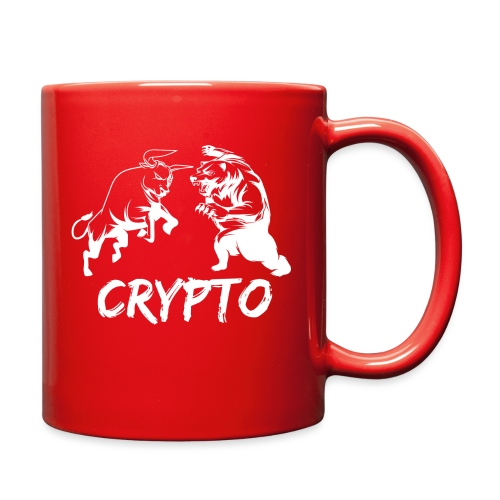 CryptoBattle White - Full Color Mug