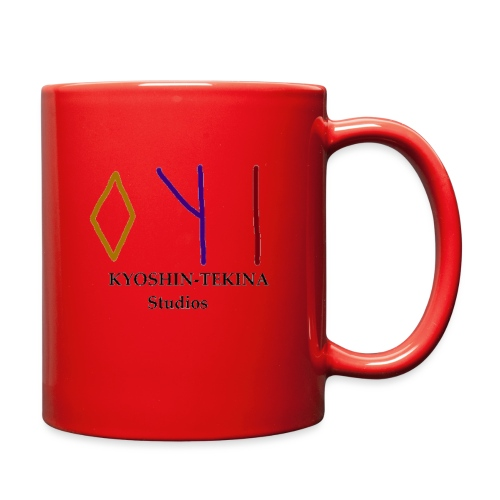 Kyoshin-Tekina Studios logo (black test) - Full Color Mug