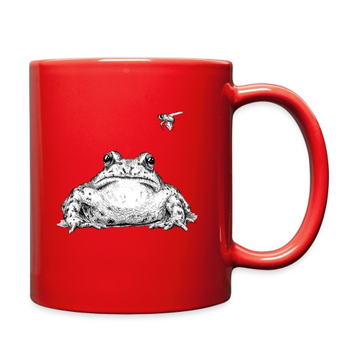 Frog with Fly by Imoya Design - Full Color Mug