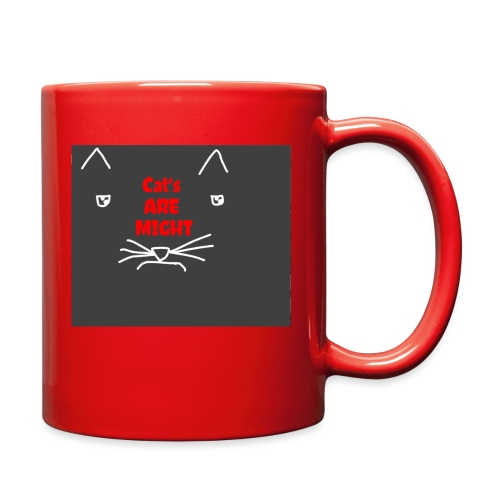 Cat's Are Might - Full Color Mug