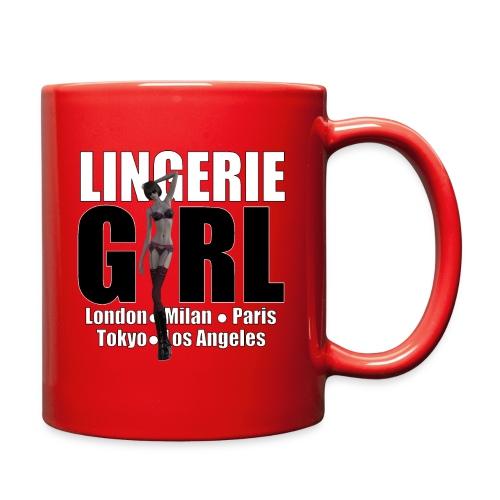 The Fashionable Woman - Lingerie Girl - Full Color Mug