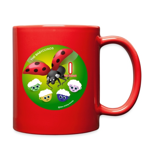 The Babyccinos Alphabet The Letter I - Full Color Mug