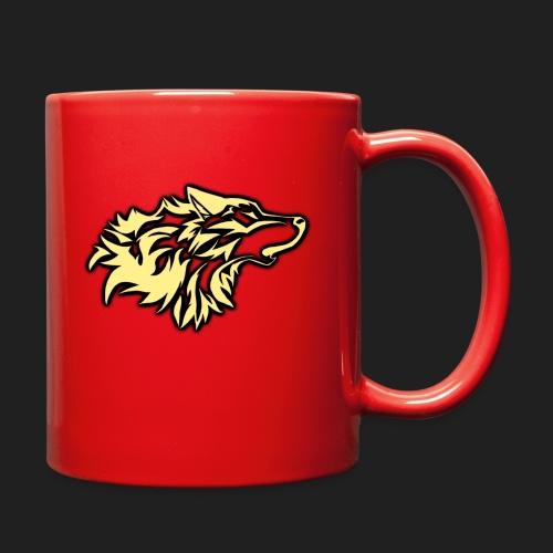 wolfepacklogobeige png - Full Color Mug