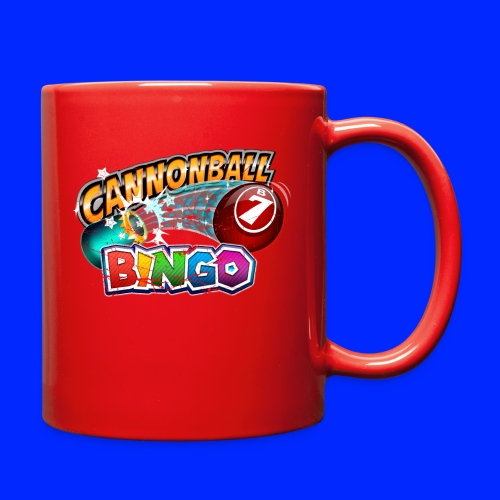 Vintage Cannonball Bingo Logo - Full Color Mug