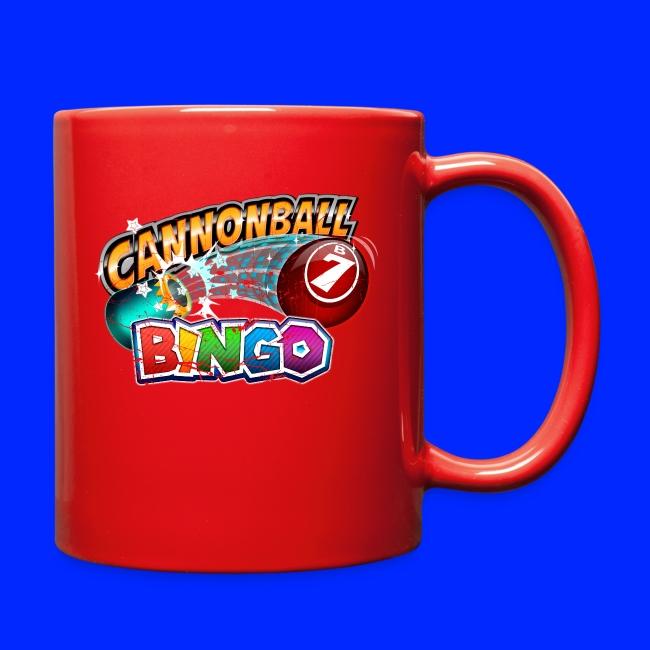 Vintage Cannonball Bingo Logo