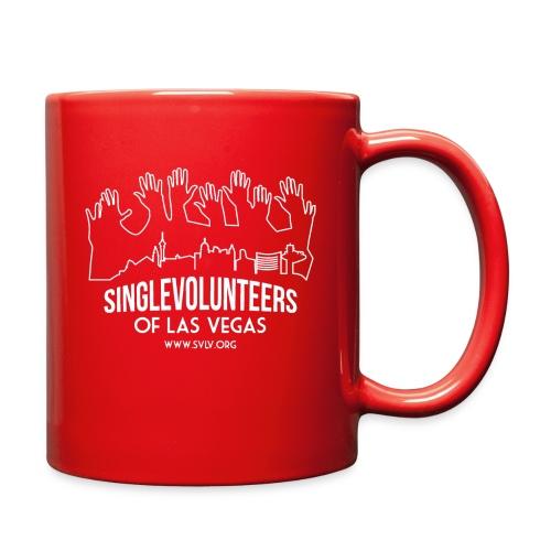 White logo SVLV - Full Color Mug